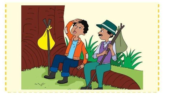 KUNCI JAWABAN Buku Tematik Kelas 3 SD Tema 2 Subtema 1, Halaman 12-16: Pengembara dan Sebuah Pohon