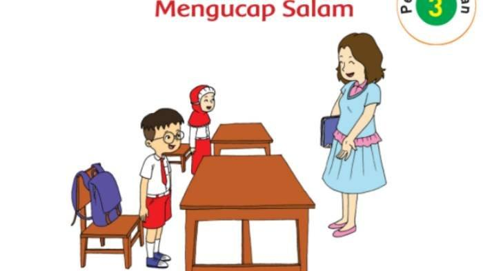 KUNCI JAWABAN Tema 3 Kelas 2 SD Subtema 2 Hal 93-95, Sebutkan Ucapan Salam dari 5 Agama di Indonesia