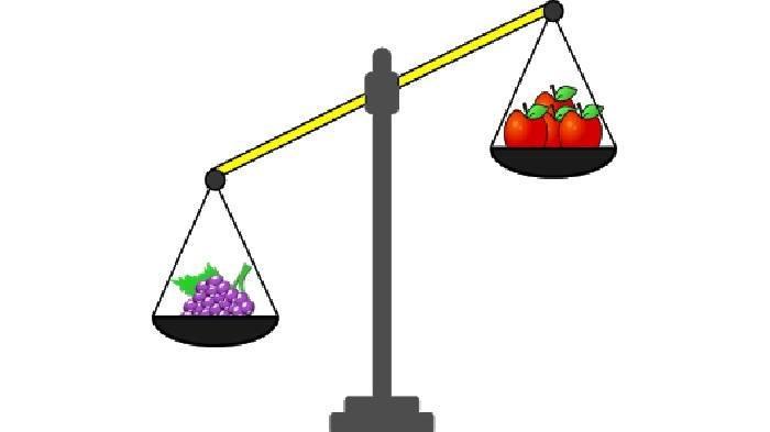 SOAL & KUNCI JAWABAN Latihan UAS dan PAS Matematika Kelas 2 SD, Buah Manakah yang Lebih Berat?