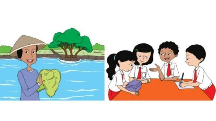 KUNCI JAWABAN Tema 2 Kelas 4 SD Subtema 3 Hal 106-107, Kemerdekaan Bagi Petani, Pedagang & Pelajar
