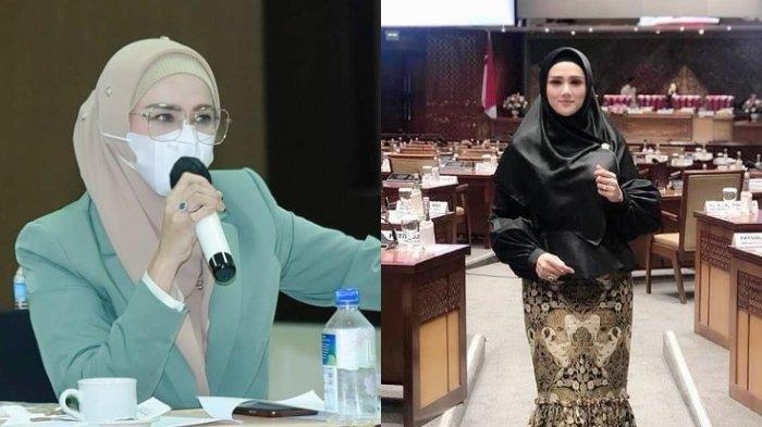 BERKELAS 5 Potret Fashionable Mulan Jameela Jadi Anggota DPR, Pesona Anggun 'Ibu Dewan' Tuai Pujian