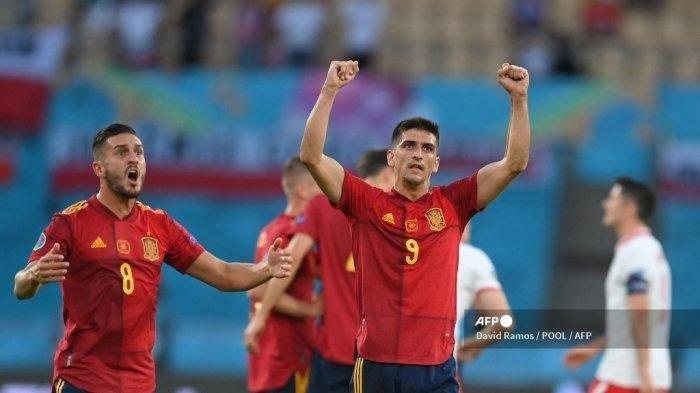 Prediksi dan Catatan Head To Head Swiss vs Spanyol, Imbang 5 Kali, Laga Euro 2020 Digelar Malam Ini