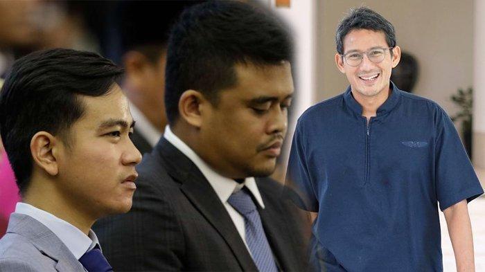 Gibran Rakabuming dan Bobby Nasution Maju di Pilkada 2020, Sandiaga Uno Beri Tanggapan, Ini Pesannya