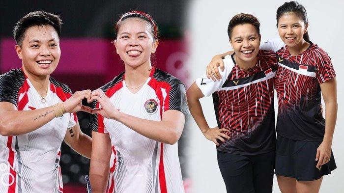 SELAMAT, Greysia & Apriyani Raih Medali Emas Olimpiade Tokyo 2020, Cetak Sejarah Baru, Ini Profilnya