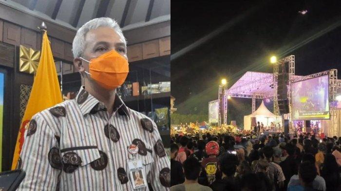 Gubernur Jawa Tengah Ganjar Pranowo tegur Wakil DPRD Tegal soal konser dangdut