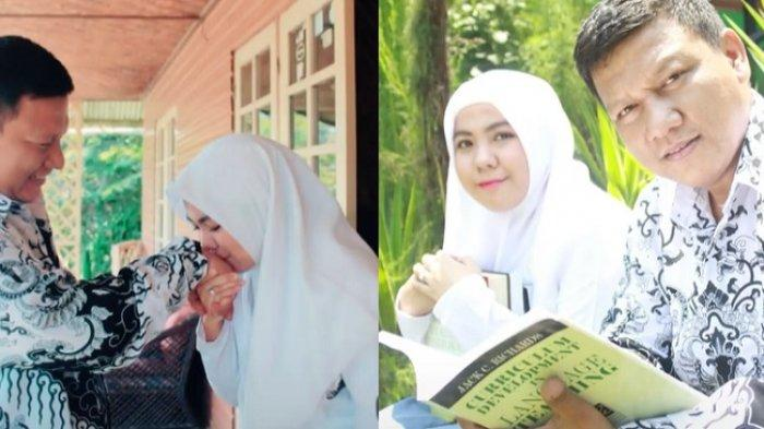 FOTO Guru SMK Jatuh Cinta Pada Murid Sendiri, Beda Usia 18 Tahun Tak Jadi Soal Lanjut ke Pernikahan