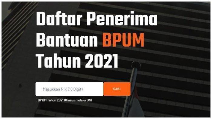 CARA Cek Penerima BLT UMKM 2021, Login banpresbpum.id atau eform.bri.co.id/bpum Siapkan KTP