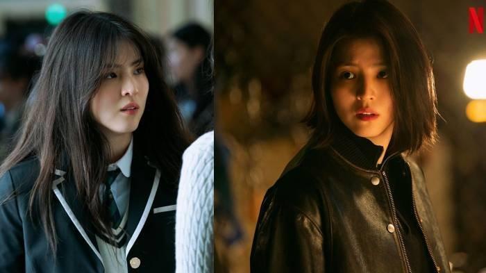 Han So Hee dalam seri Netflix My Name