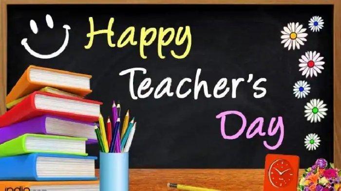 Hari Guru Sedunia 5 Oktober Asal Mula Dan Perbedaannya Dengan Hari Guru Nasional Tribunnewsmaker Com