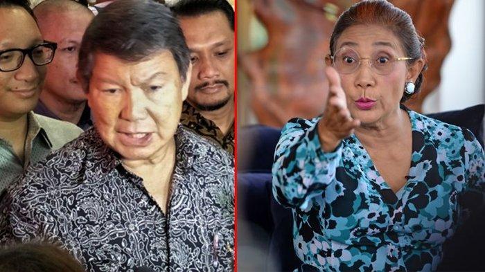 Adik Prabowo Sebut Larangan Ekspor Benih Lobsternya Keliru, Susi Pudjiastuti Unggah Emoticon Ini