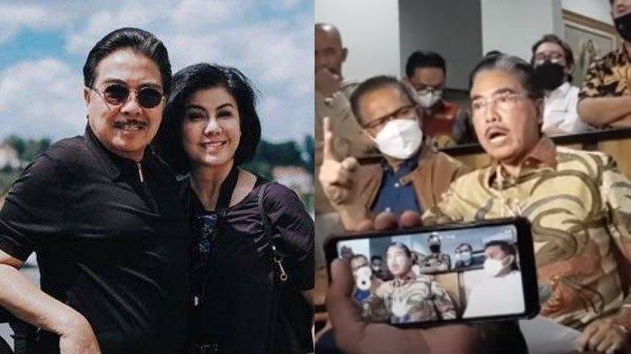 Acungkan Jari, Hotma Sitompul Murka Mikhavita Difitnah Orang Ketiga, 'Itu Jahatnya Bams dan Ibunya'