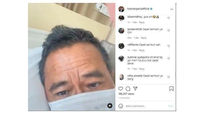 Hotman Paris Dilarikan ke Rumah Sakit Sampai Harus Opname: 'Pantesan 4 Hari di Bali Tidak Semangat'