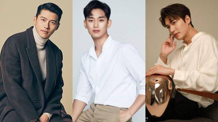 DAFTAR BARU 10 Terganteng Korea, Hyun Bin Merajai, Disusul Ji Chang Wook, Song Joong Ki Terdepak?
