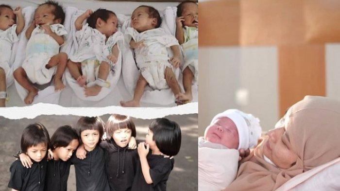 Dulu Viral Wanita Lahirkan Bayi Kembar 5, Kini Semua Sudah Besar, Bahagia Sambut Lahirnya Anak Ke-7
