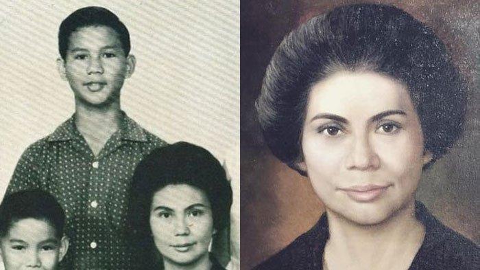 CANTIK Paripurna Sosok Dora Marie Sigar Ibunda Prabowo, Punya Darah Manado-Jerman, Ini Profilnya