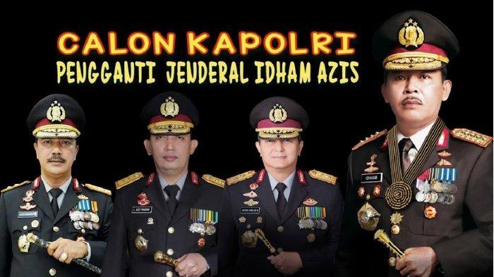 TEKA-TEKI Calon Kapolri Diduga Pilihan Jokowi Terkuak, Sosoknya Mirip Idham Azis & Tito Karnavian