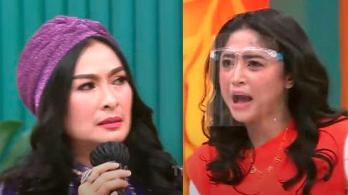 MOMEN Iis Dahlia Nyolot Diingatkan Dewi Perssik, Host Lain Terdiam Tak Ada Berani Bersuara