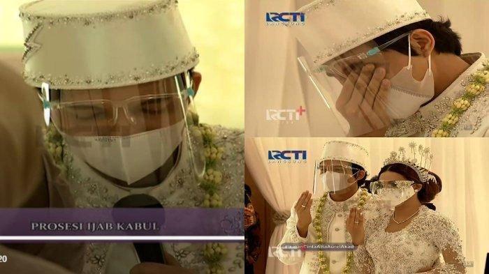 Atta Halilintar dan Aurel Hermansyah Resmi Menikah, Intip Foto-foto Ijab Kabul, Penuh Khidmat & Haru