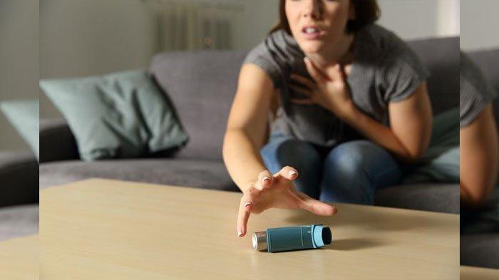 Ilustasi penderita asma