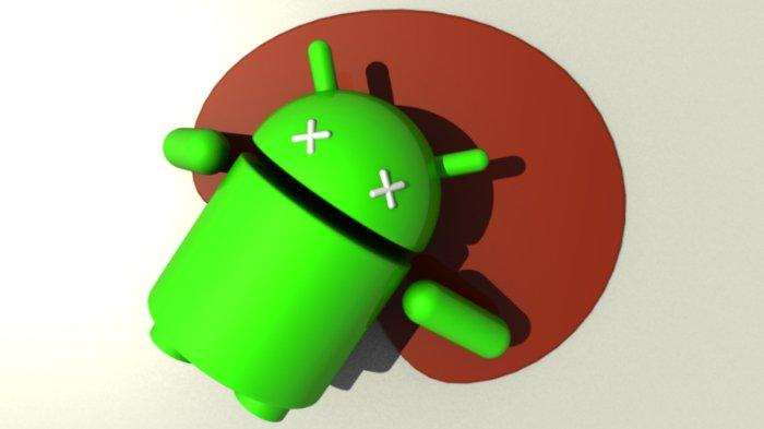 Ilustrasi Android Mati.
