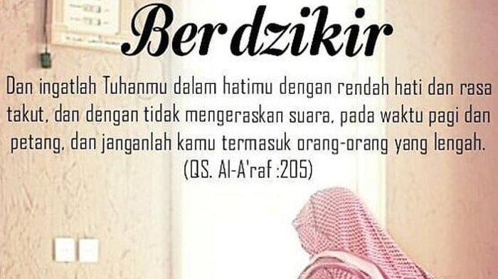 Pahala Berlimpah Jika Dibaca 100 Kali, Amalkan Dzikir Berikut Ini Setiap Hari, Sambut Ramadhan 2021