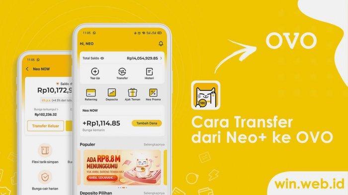 Ilustrasi aplikasi penghasil uang Neo+.