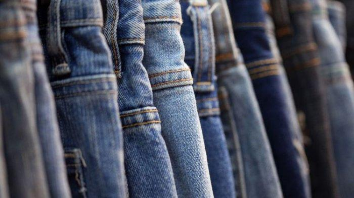 Ilustrasi celana jeans