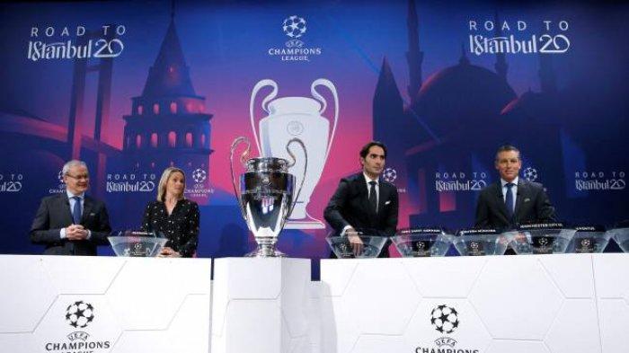 JADWAL Drawing Liga Champions 2021/2022: PSG, Barcelona, Manchester United, Real Madrid Satu Pot