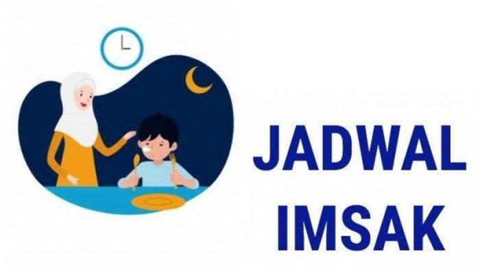 Ilustrasi jadwal imsakiyah Ramadhan 2021.