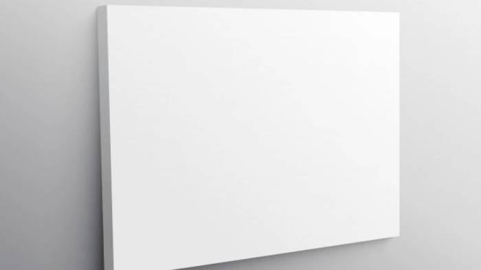 Seorang Seniman Dibayar 1 Milyar untuk Lukis Karya, Malah Kirimkan Kanvas Kosong & Diberi Judul Ini
