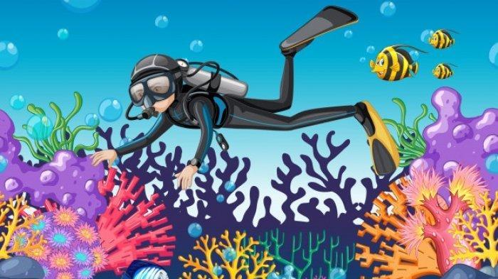 KUNCI JAWABAN Latihan UAS PAS Bahasa Inggris 10 SMA, What Can Be Viewed Through The Diving Goggles?