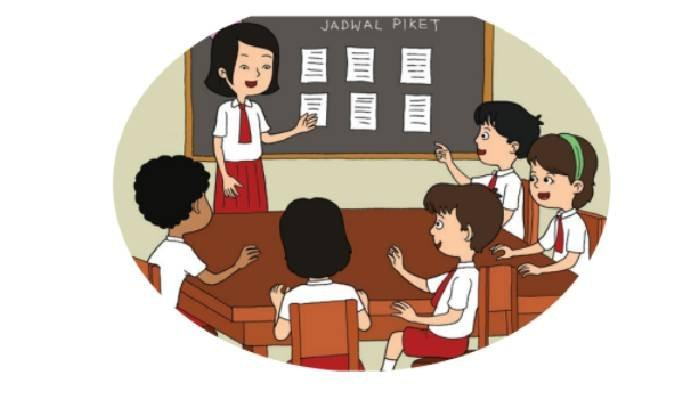 KUNCI JAWABAN Tema 1 Kelas 2 SD Subtema 3 Hal 131-133, Pengamalan Sila ke-4 & 5 di Sekolah