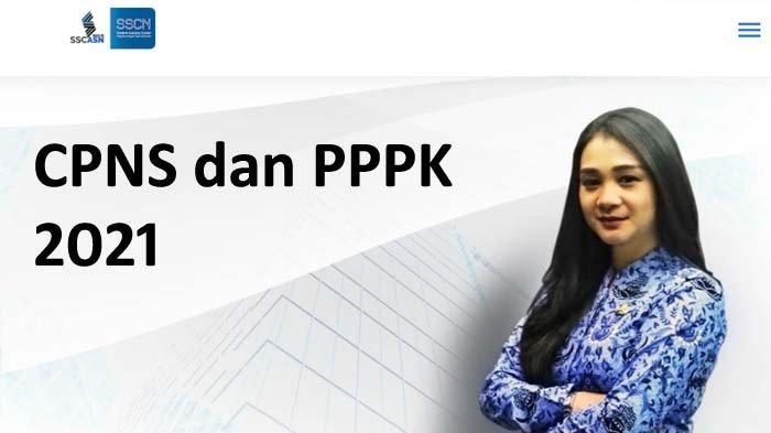 Ilustrasi pendaftaran CPNS dan PPPK 2021.