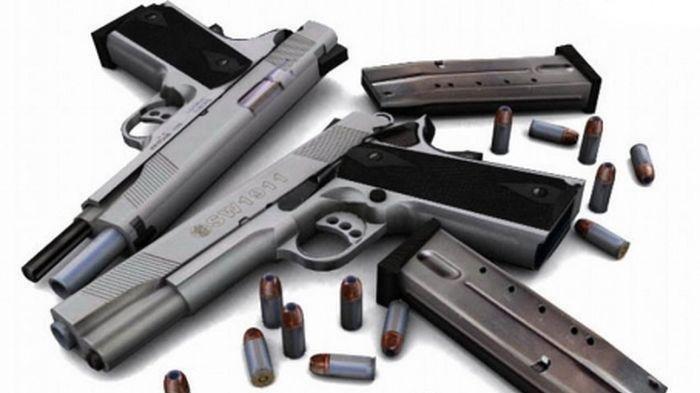Ilustrasi penjualan senjata