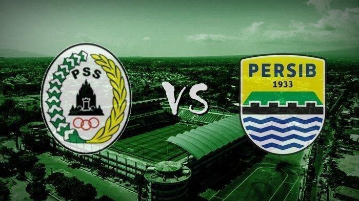 Ilustrasi pertandingan PSS Sleman vs Persib Bandung Piala Menpora 2021.