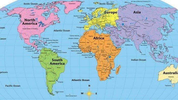 Mengenal Unsur-unsur pada Peta, Warna hingga Simbol Punya Makna, Berikut Penjelasan Lengkapnya!