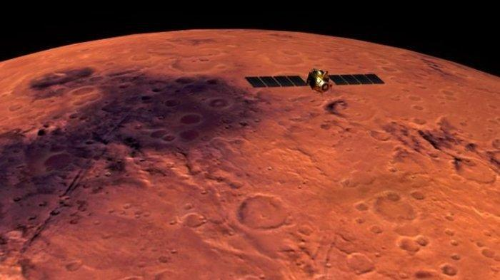 FOTO Planet Mars Terbaru Dipublikasikan China, Pendaratan hingga Panel Surya, Keberadaan Air Dicari