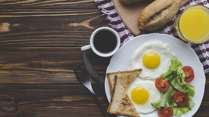Ilustrasi sarapan pagi
