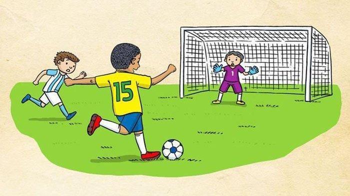 KUNCI JAWABAN Latihan UAS dan PAS Pelajaran PJOK Kelas 11 SMA, Pola Pertahanan dalam Sepak Bola
