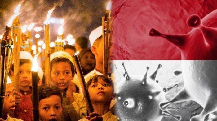 PANDUAN LENGKAP Takbiran & Salat Idul Fitri saat Pandemi Covid-19, Terapkan Protokol Kesehatan Ketat
