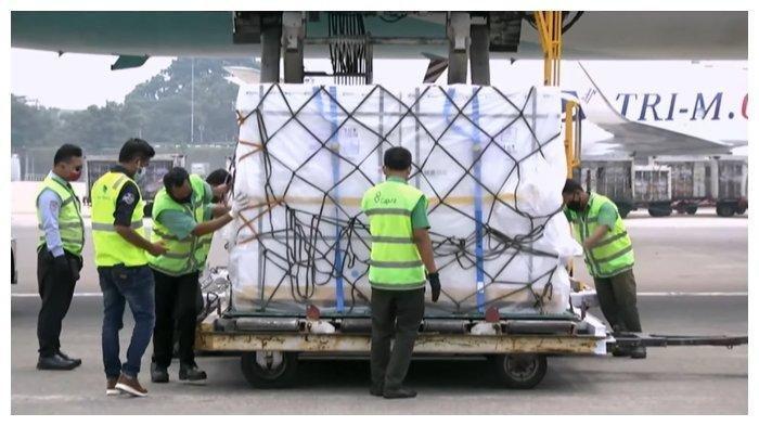 1.184.000 Dosis Vaksin Sinopharm Tiba di Indonesia, Demi Penuhi Target 2 Juta Orang Divaksin Perhari