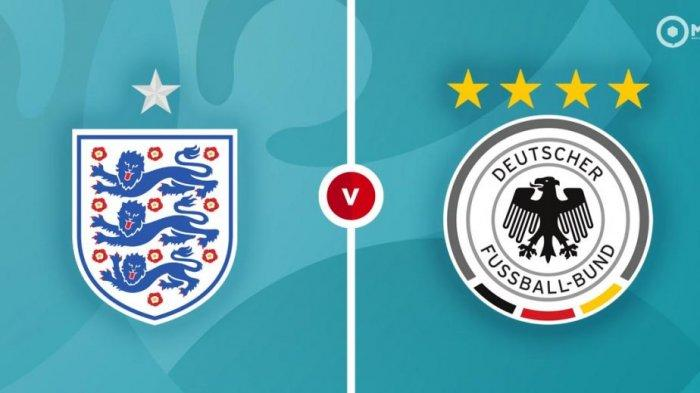LIVE STREAMING Inggris vs Jerman Euro 2020 Babak 16 Besar, Cek Cara Nonton via Link Mola TV di Sini