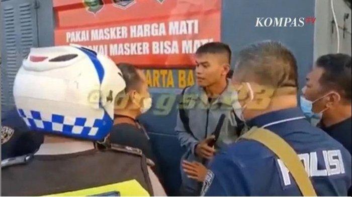 Trending Twitter, Paspampres Ditahan Petugas Pos Penyekatan PPKM Darurat, Sikap Sopan Jadi Sorotan