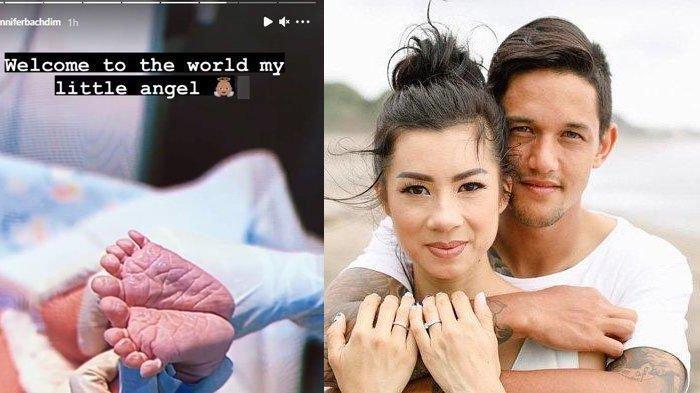 Jennifer Bachdim Lahirkan Anak ke-3, Irfan Bachdim Tak Henti Puji-puji Sang Istri & Merasa Bangga