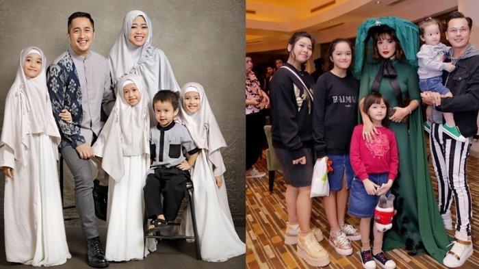 REKOR! 7 Artis Indonesia dengan Anak Terbanyak, Ada yang Sampai 7, Rumah Seperti Taman Kanak-kanak