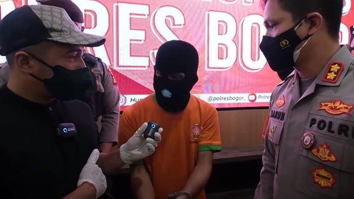 Irfan Hakim marah saat dengar pengakuan pelaku pencuri ikan arwana rekannya