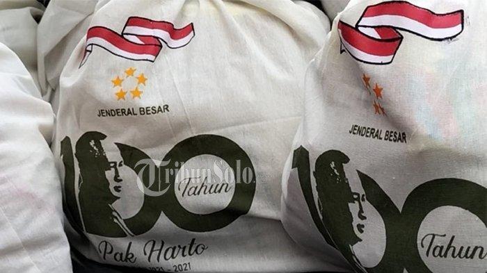 TERKUAK Isi Paket Pemberian Keluarga Cendana Peringati 100 Tahun Kelahiran Soeharto, Ada Beras 5 Kg