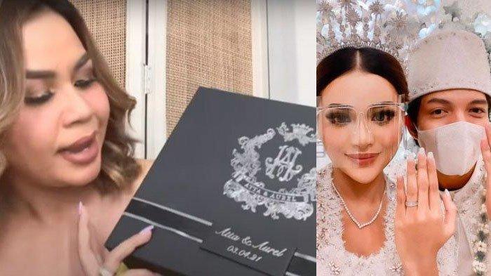 Isi Souvenir Pernikahan Aurel & Atta Halilintar, Melaney Ricardo Takjub Ada Kotak Kalung Mewah