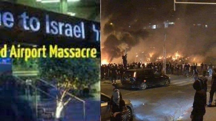 Karma Nyata Israel? Dibombardir Roket Hamas, Dalam Negeri Pecah Perang Saudara, PM Netanyahu Stres!