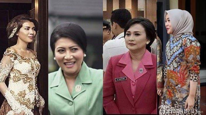 ADU PESONA Istri Para Jenderal TNI & Polri, Istri Listyo Sigit Prabowo, Idham Azis, Andika Perkasa
